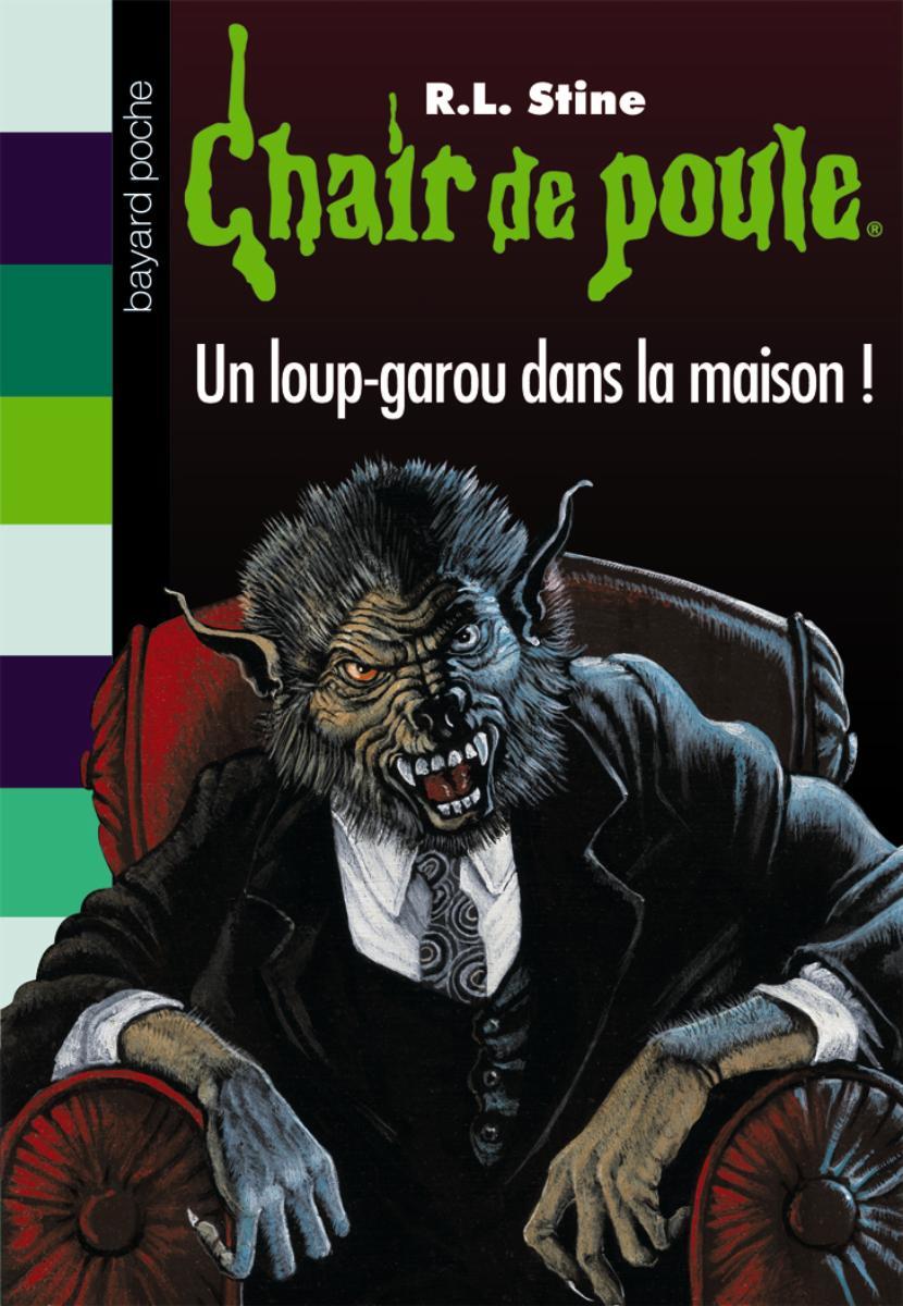 Couverture de «UN LOUP-GAROU DANS LA MAISON !»