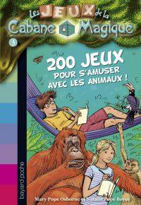 Couverture «200 JEUX SUR LES ANIMAUX POUR S'AMUSER»