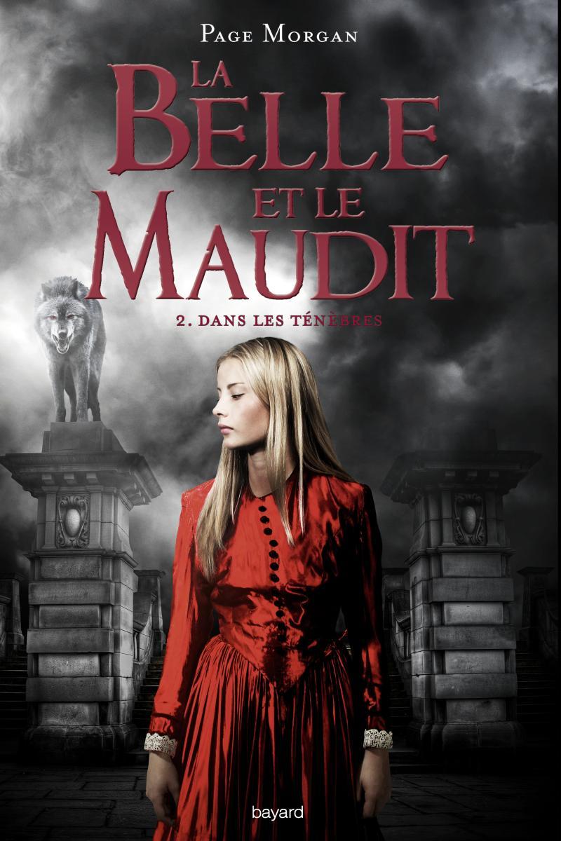 Couverture de «LA BELLE ET LE MAUDIT – DANS LES TÉNÈBRES»