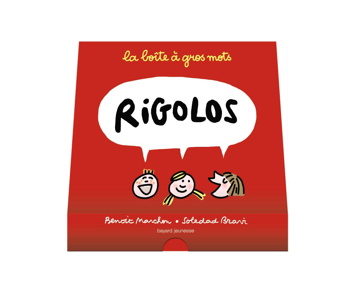 Couverture de «La boîte à gros mots rigolos»