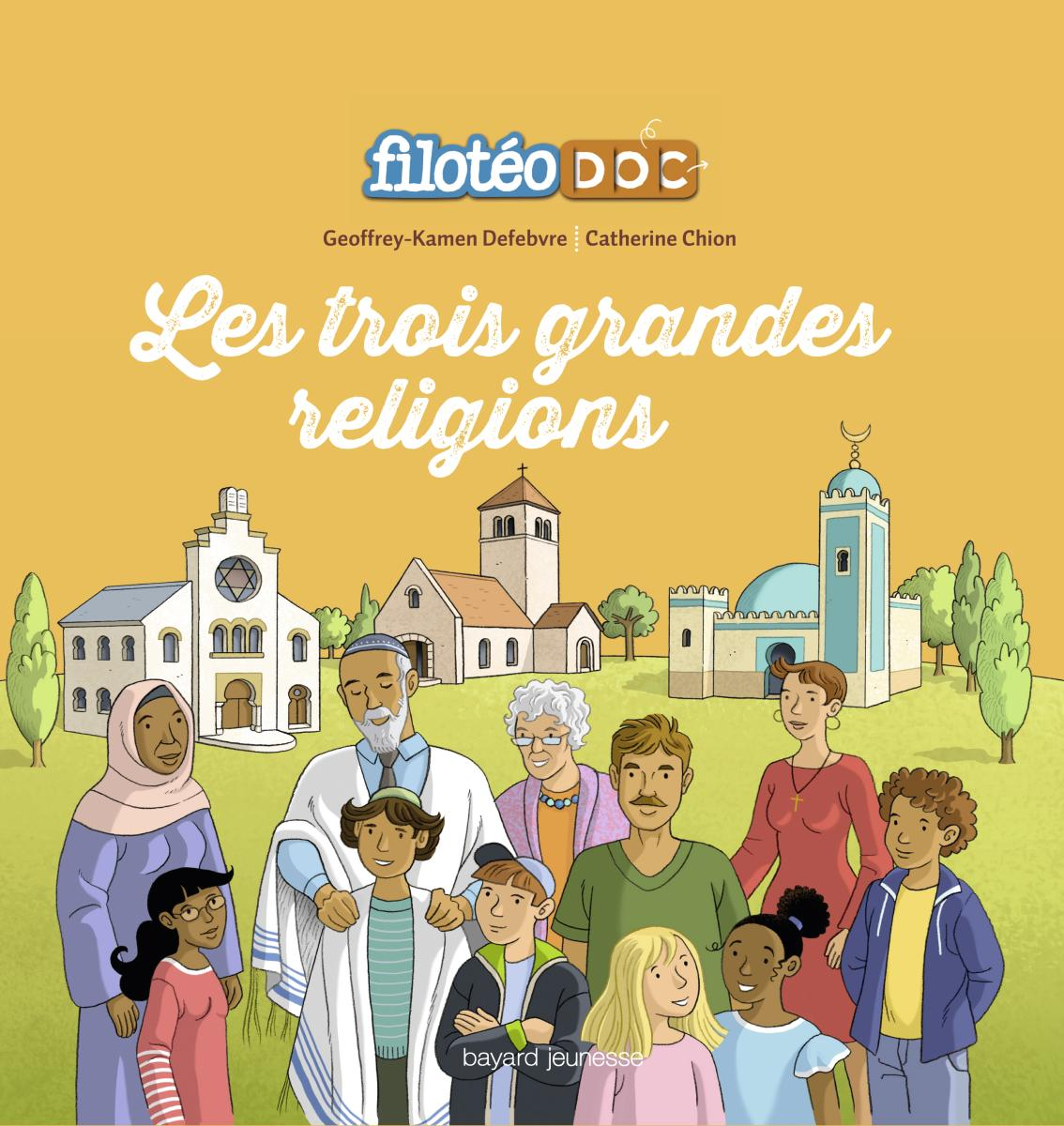 Couverture de «LES GRANDES RELIGIONS»