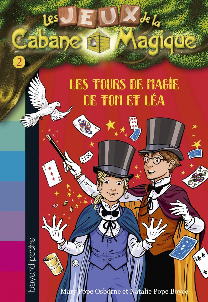 Couverture de «LES TOURS DE MAGIE DE TOM ET LÉA – T2»