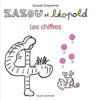 Couverture «Zazou et Léopold Les Chiffres»