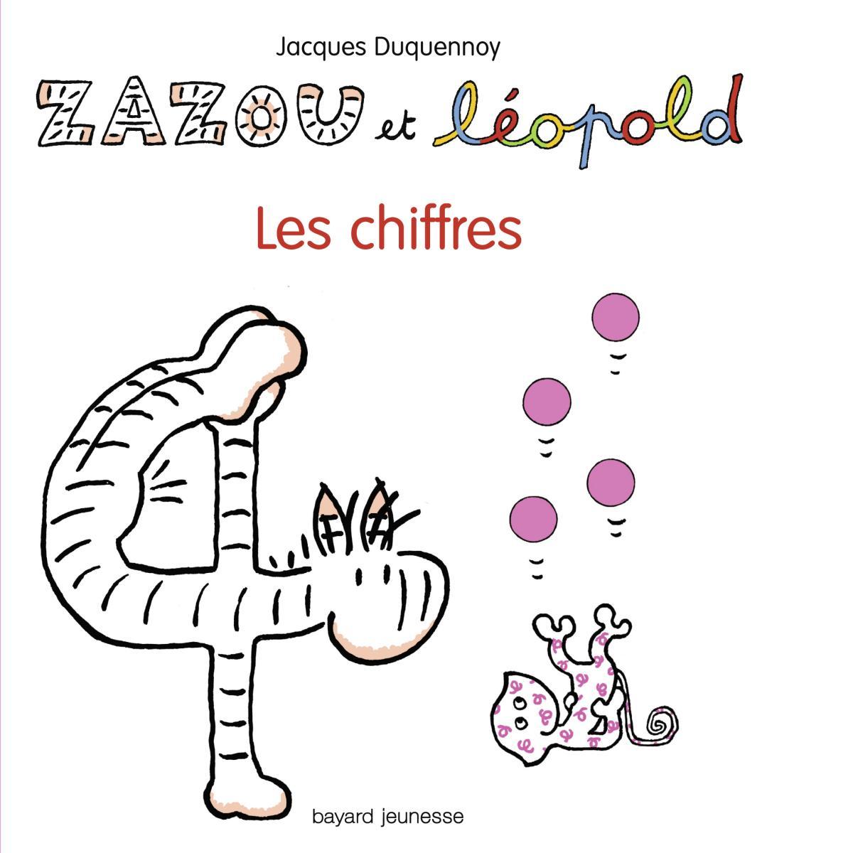 Couverture de «Zazou et Léopold Les Chiffres»