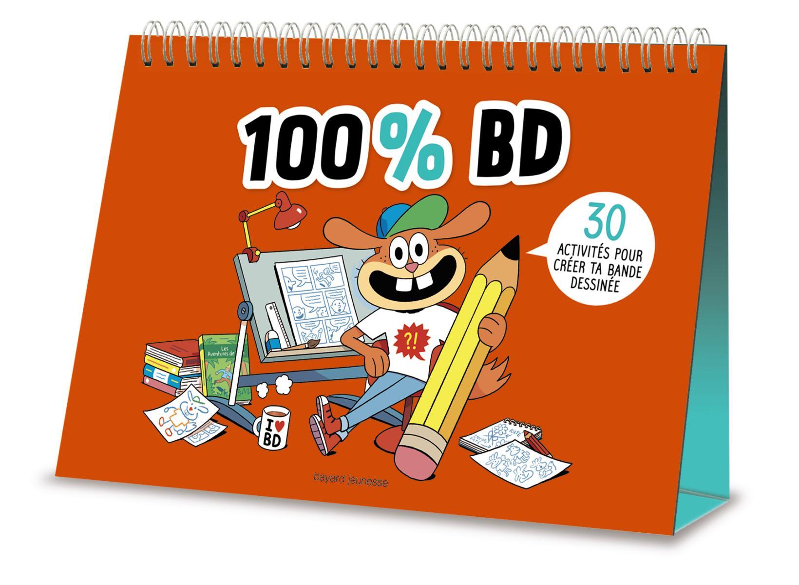 Couverture de «100 % BD»