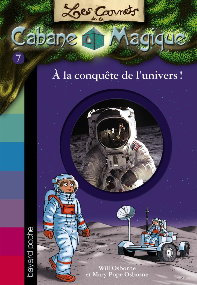 Couverture de «A LA CONQUÊTE DE L'UNIVERS !»