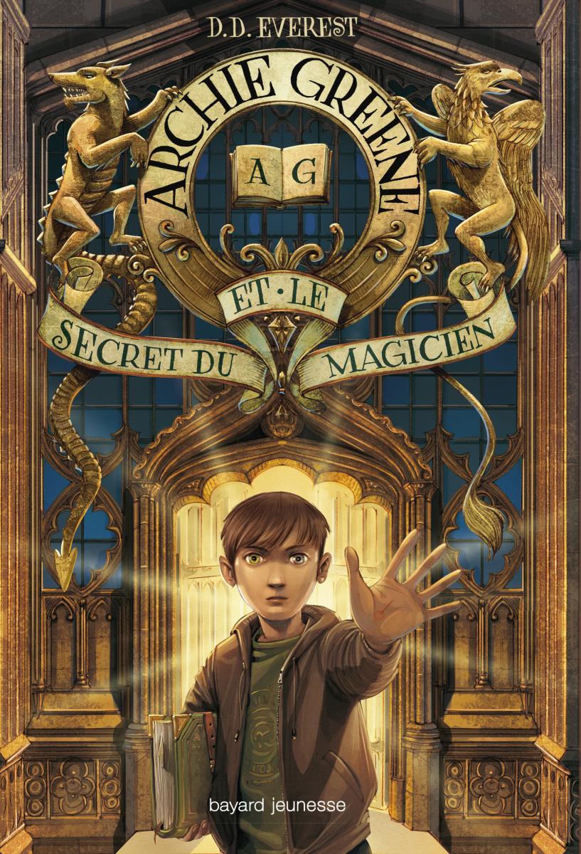 Couverture de «ARCHIE GREENE ET LE SECRET DU MAGICIEN, TOME 1 : ARCHIE GREENE»