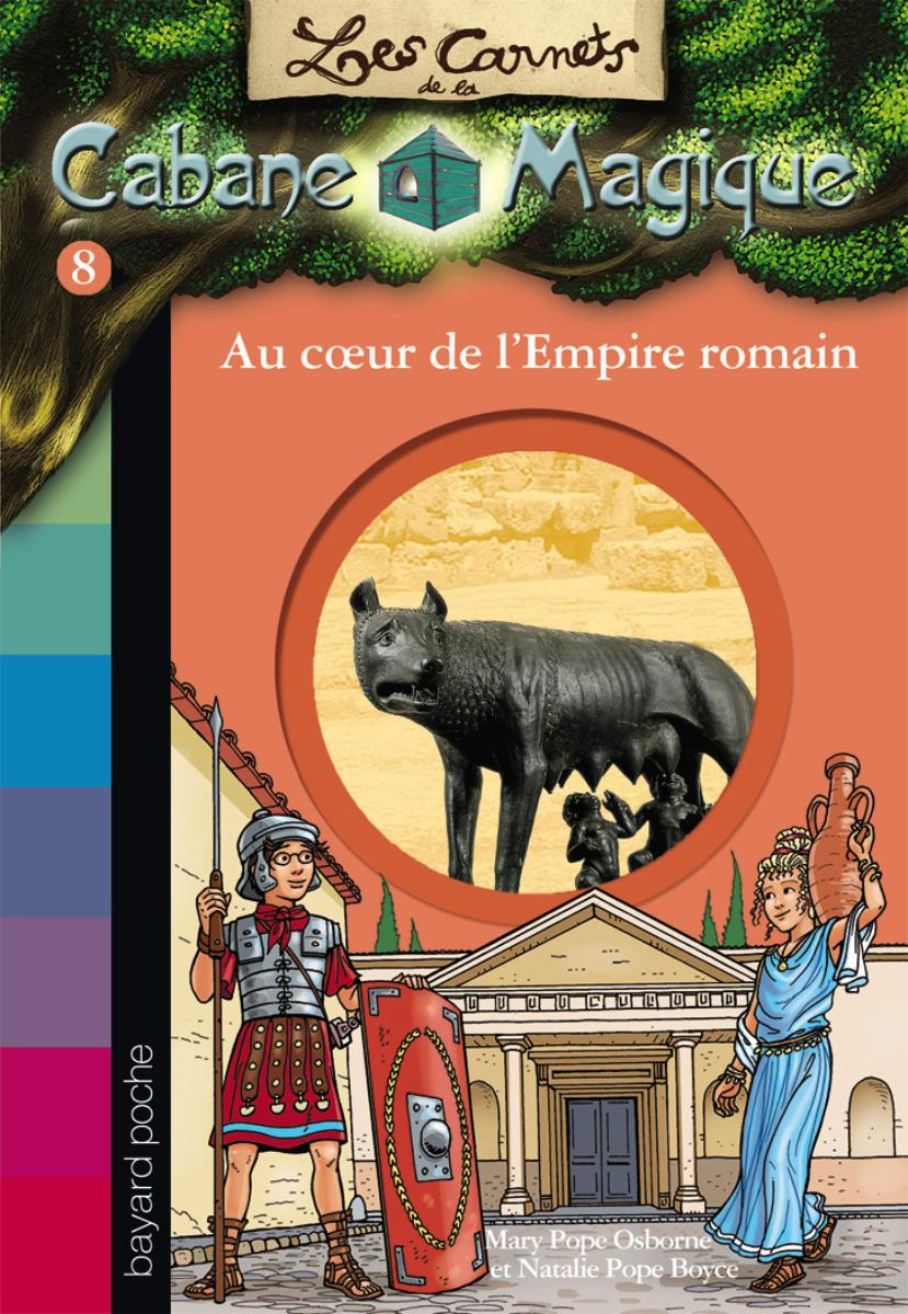 Couverture de « AU COEUR DE L'EMPIRE ROMAIN »