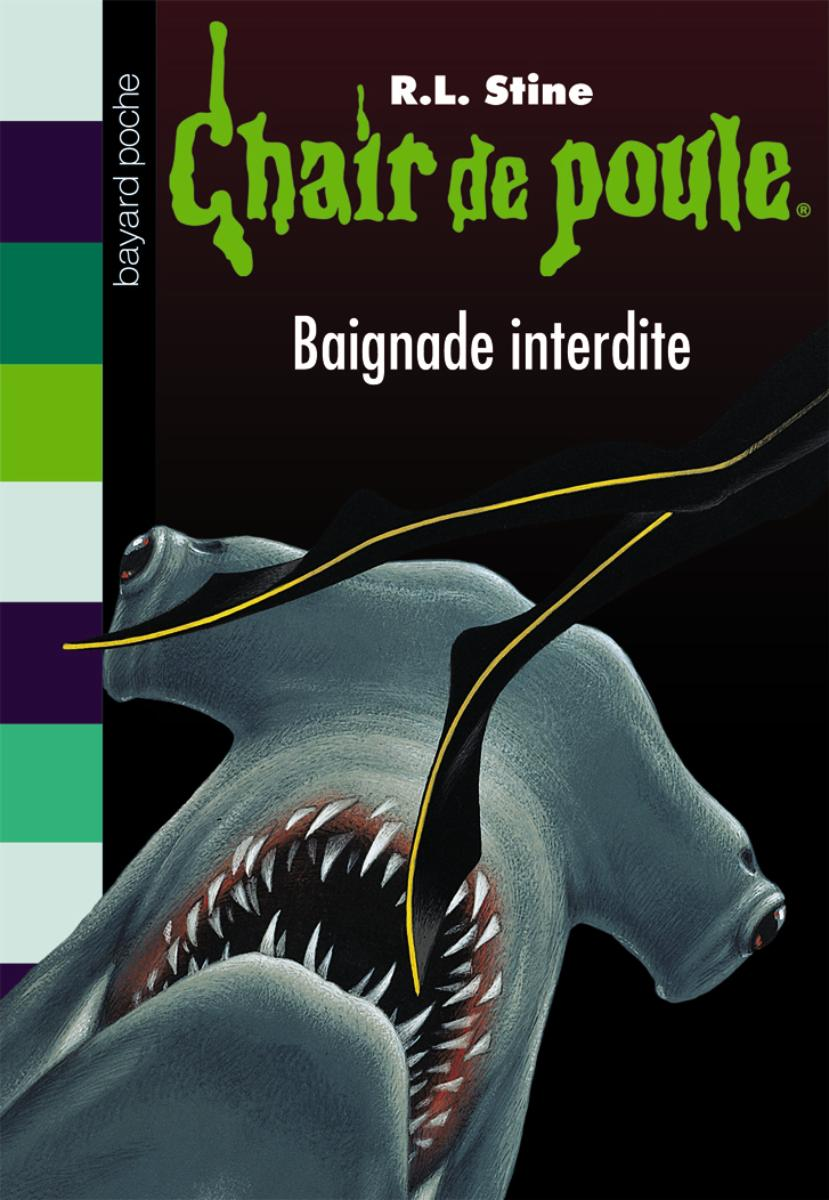 Couverture de «BAIGNADE INTERDITE»