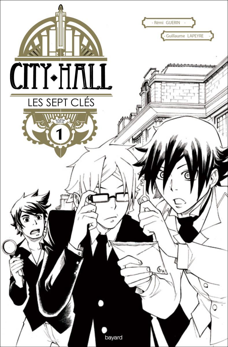 Couverture de «CITY HALL 1 – LES SEPT CLÉS»