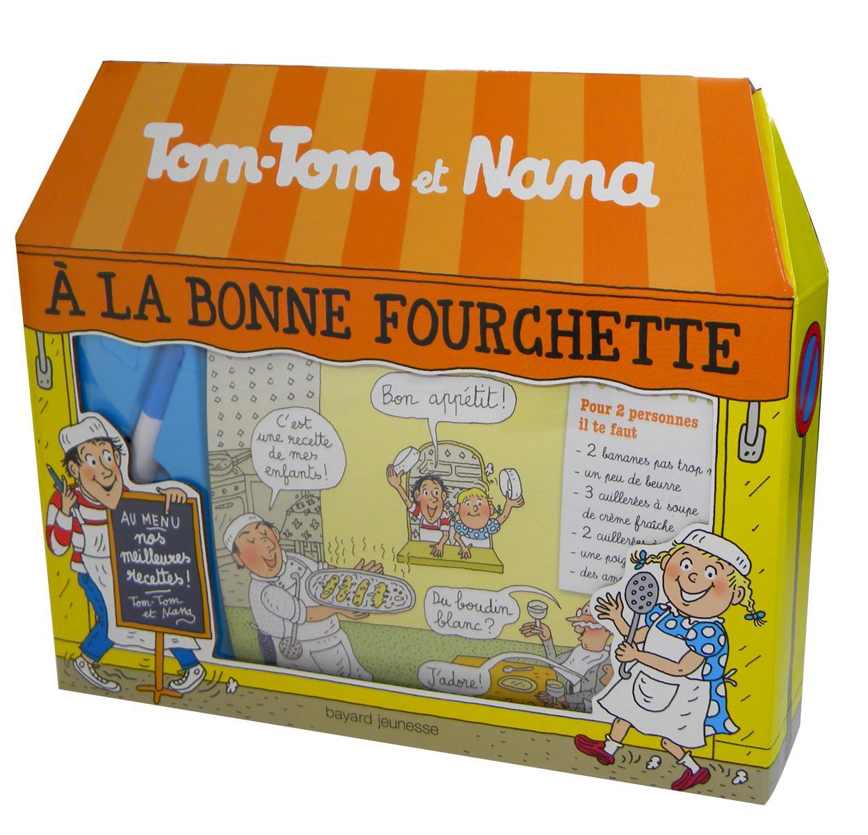 Couverture de «Coffret BONNE FOURCHETTE Tom-Tom et Nana»