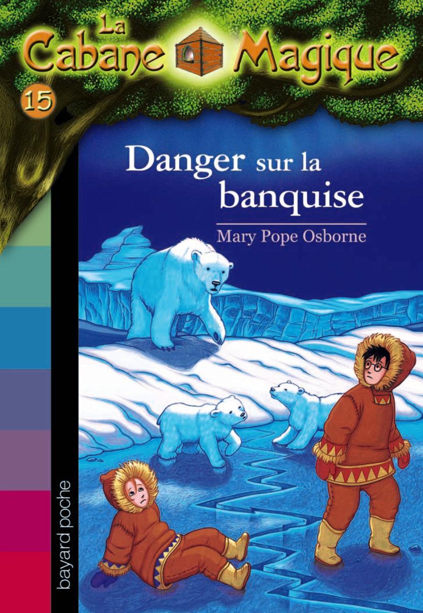 Couverture de «Danger sur la banquise»
