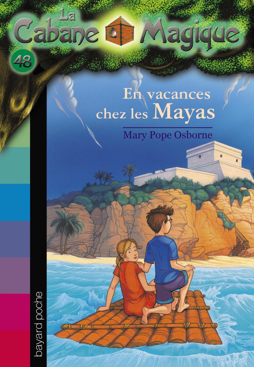 Couverture de «EN VACANCES CHEZ LES MAYAS»