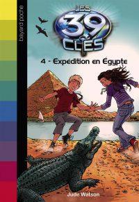 Couverture «EXPÉDITION EN EGYPTE»
