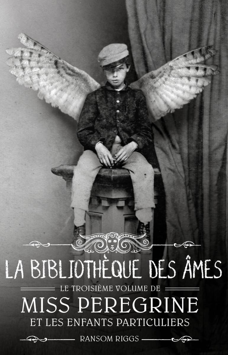 Couverture de «LA BIBLIOTHÈQUE DES ÂMES»