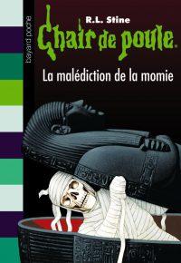 Couverture «LA MALÉDICTION DE LA MOMIE»