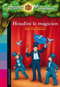 Couverture «LE MAGICIEN HOUDINI»