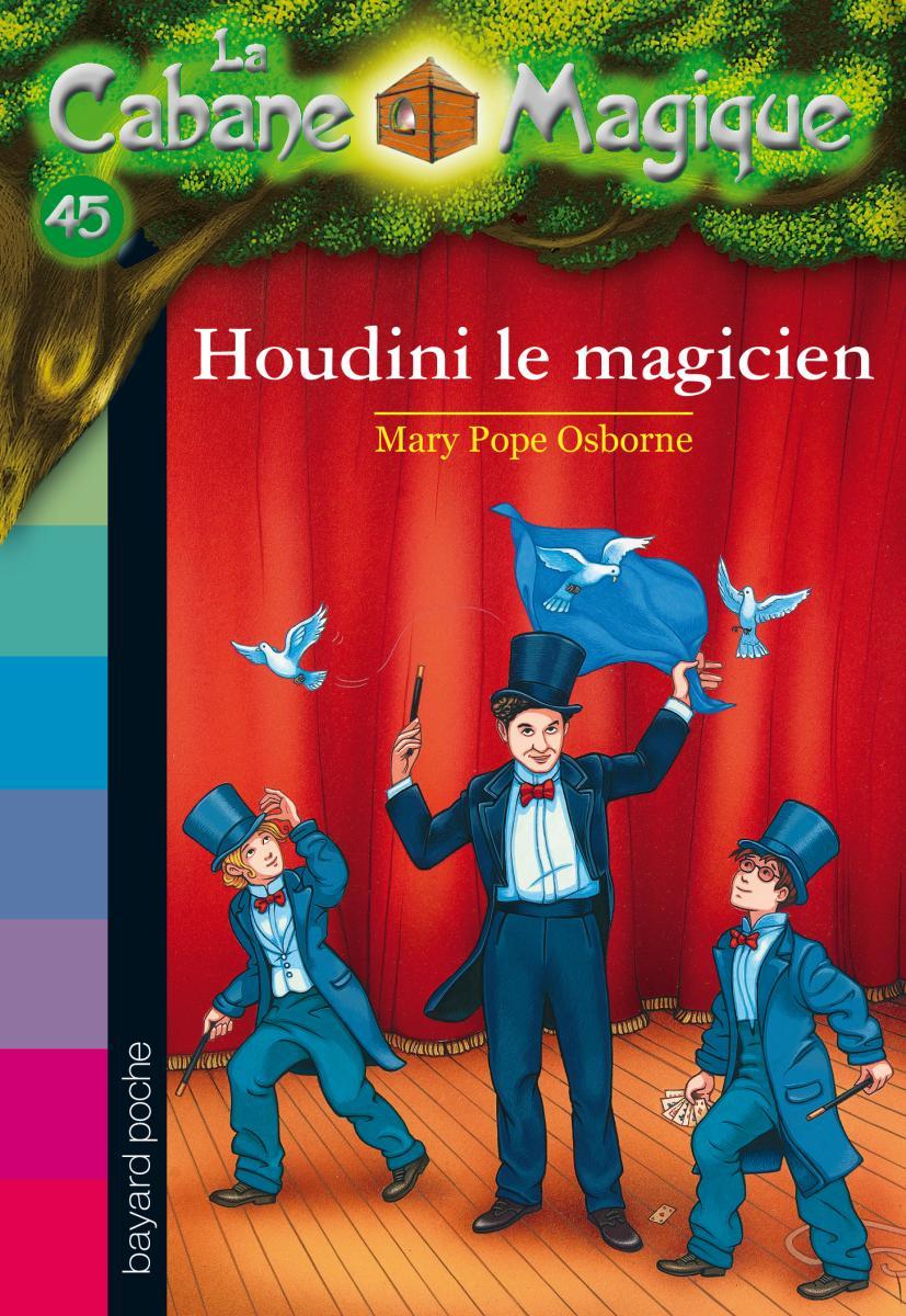 Couverture de «LE MAGICIEN HOUDINI»