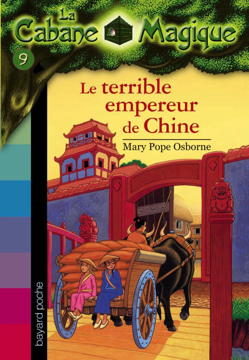 Couverture de « Le terrible empereur de Chine »