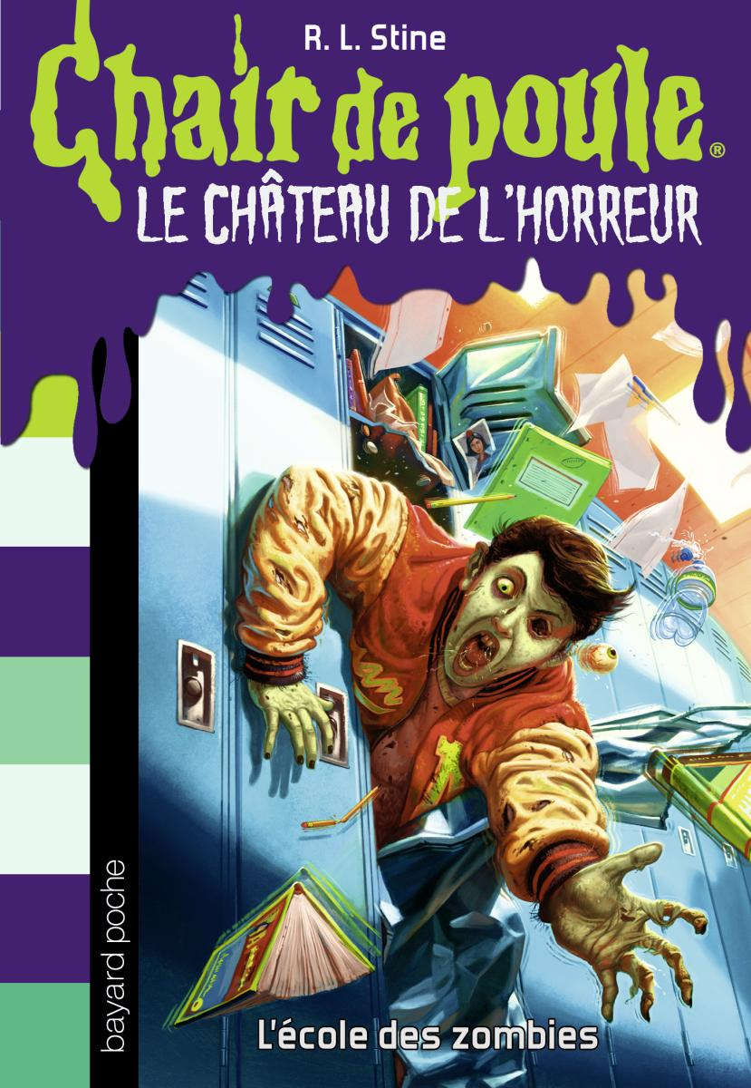 Couverture de «L'école des zombies»