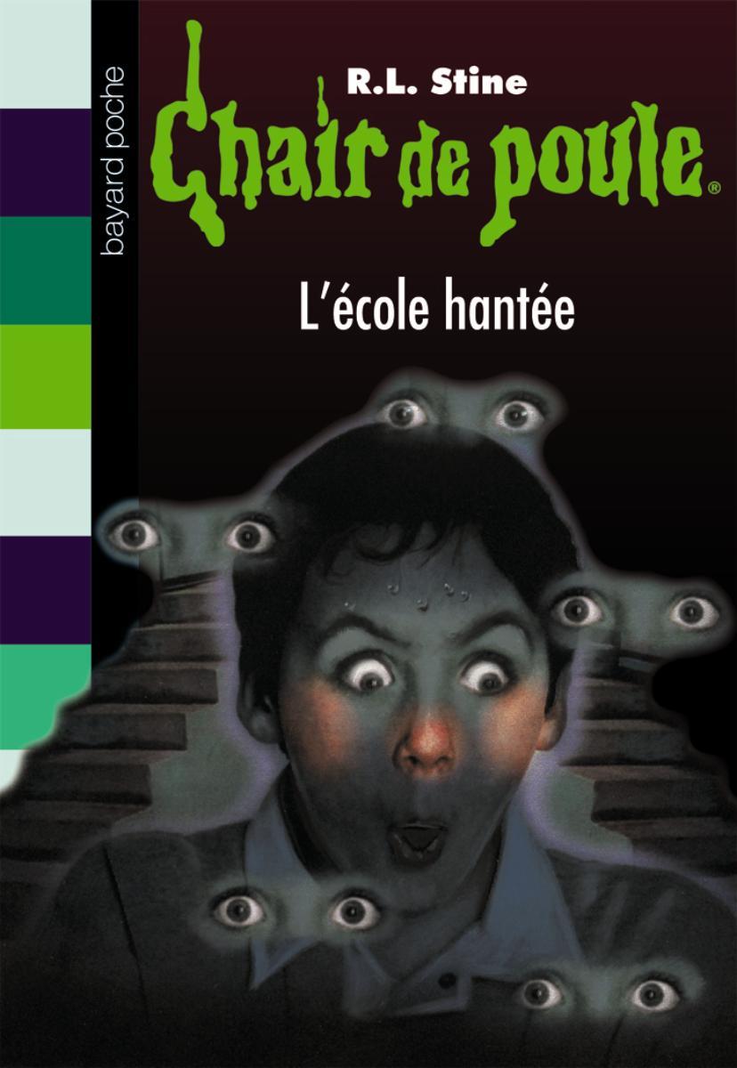 Couverture de «L'ÉCOLE HANTÉE»
