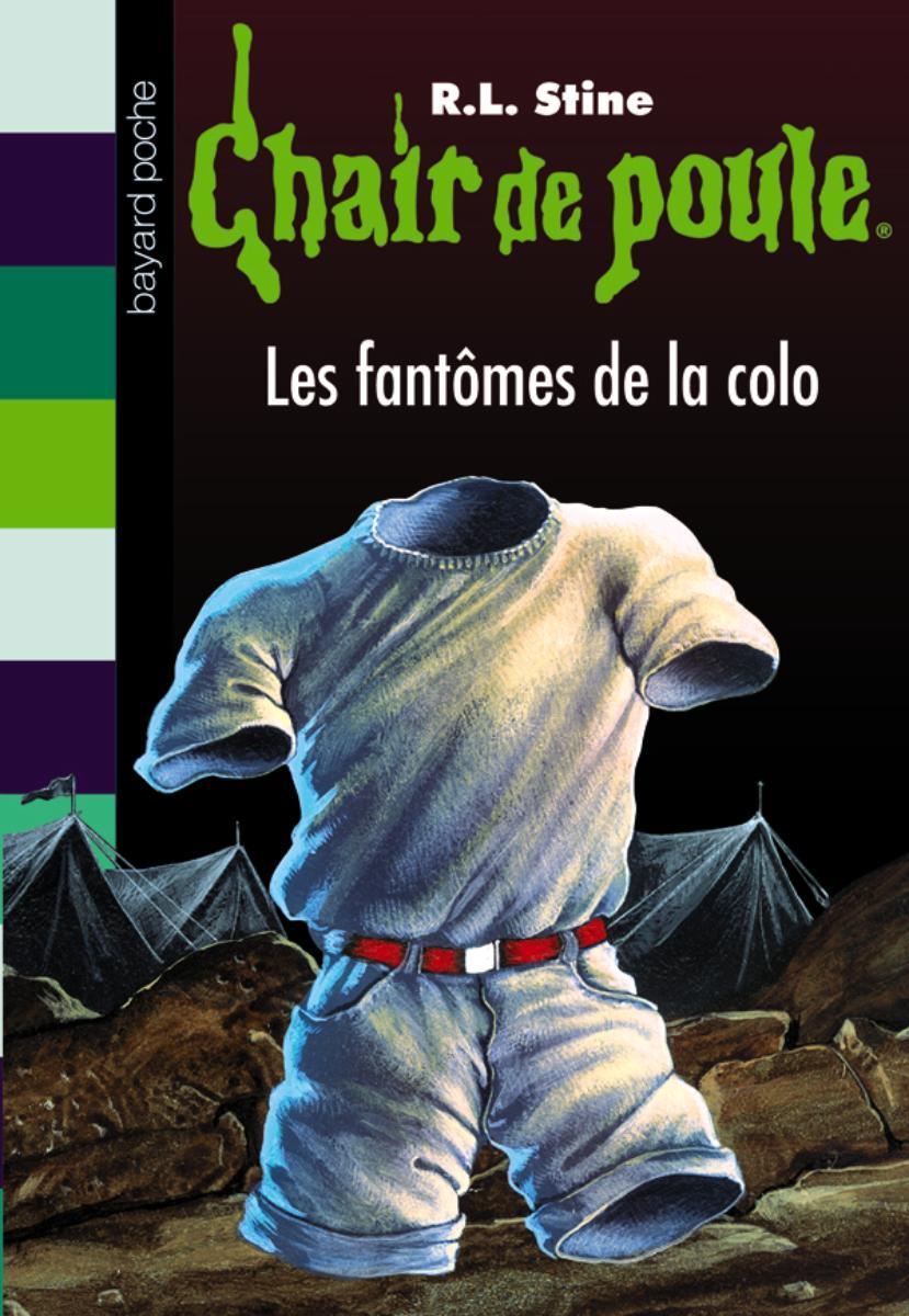 Couverture de «LES FANTÔMES DE LA COLO»