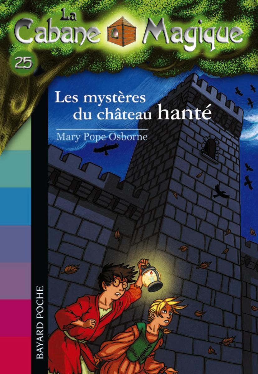 Couverture de «LES MYSTÈRES DU CHATEAU HANTÉ»