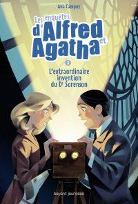 Couverture «L'extraordinaire invention du Dr Sorenson – Les enquêtes d'Alfred et Agatha T03»