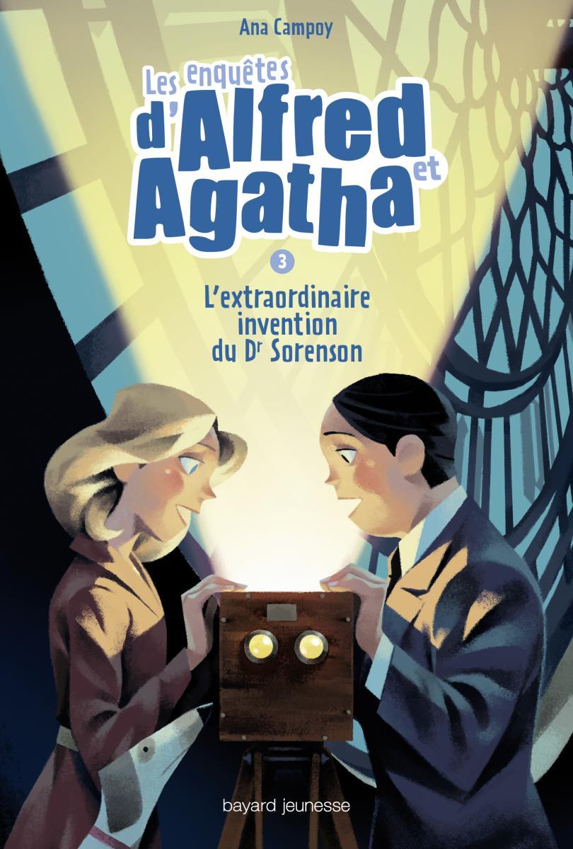 Couverture de «L'extraordinaire invention du Dr Sorenson – Les enquêtes d'Alfred et Agatha T03»