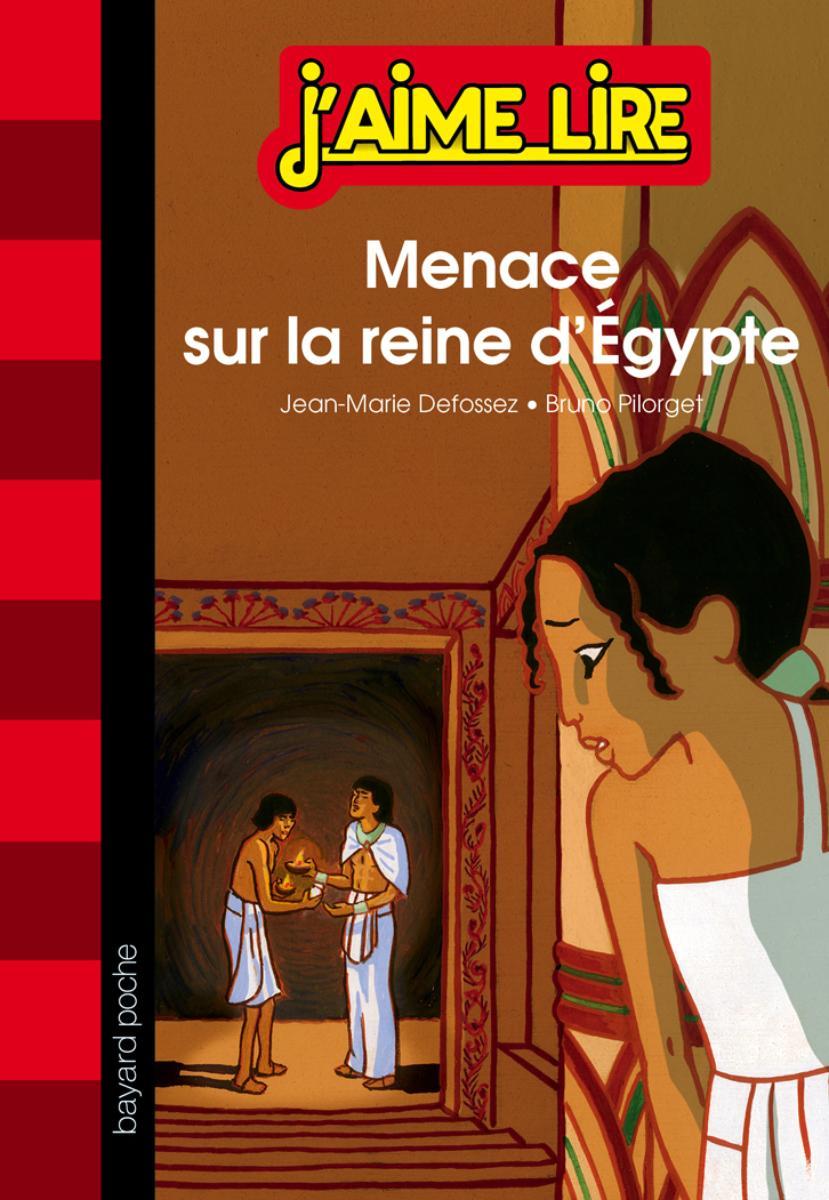 Couverture de «MENACE SUR LA REINE D'EGYPTE»