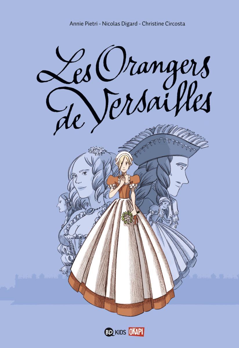 Couverture de «Orangers de Versailles»