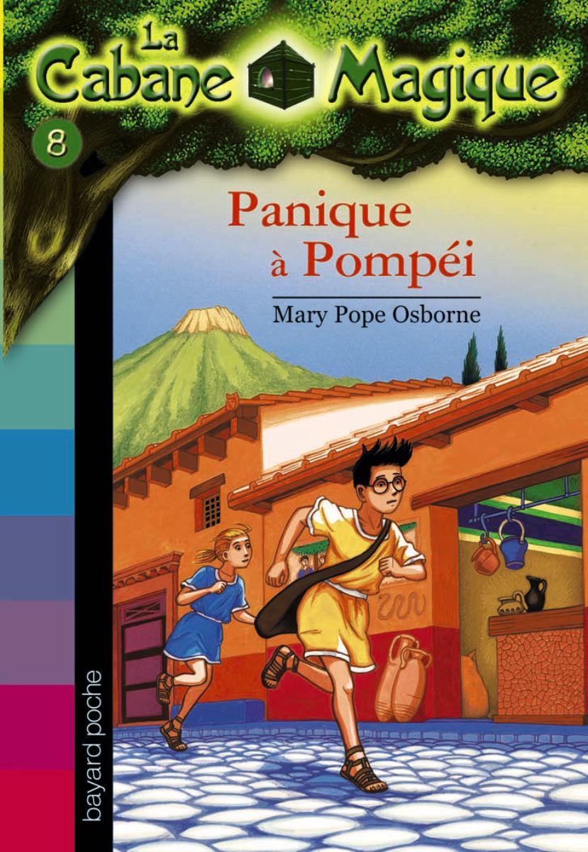 Couverture de «Panique à Pompéi»