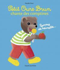 Couverture «Petit Ours Brun chante des comptines»