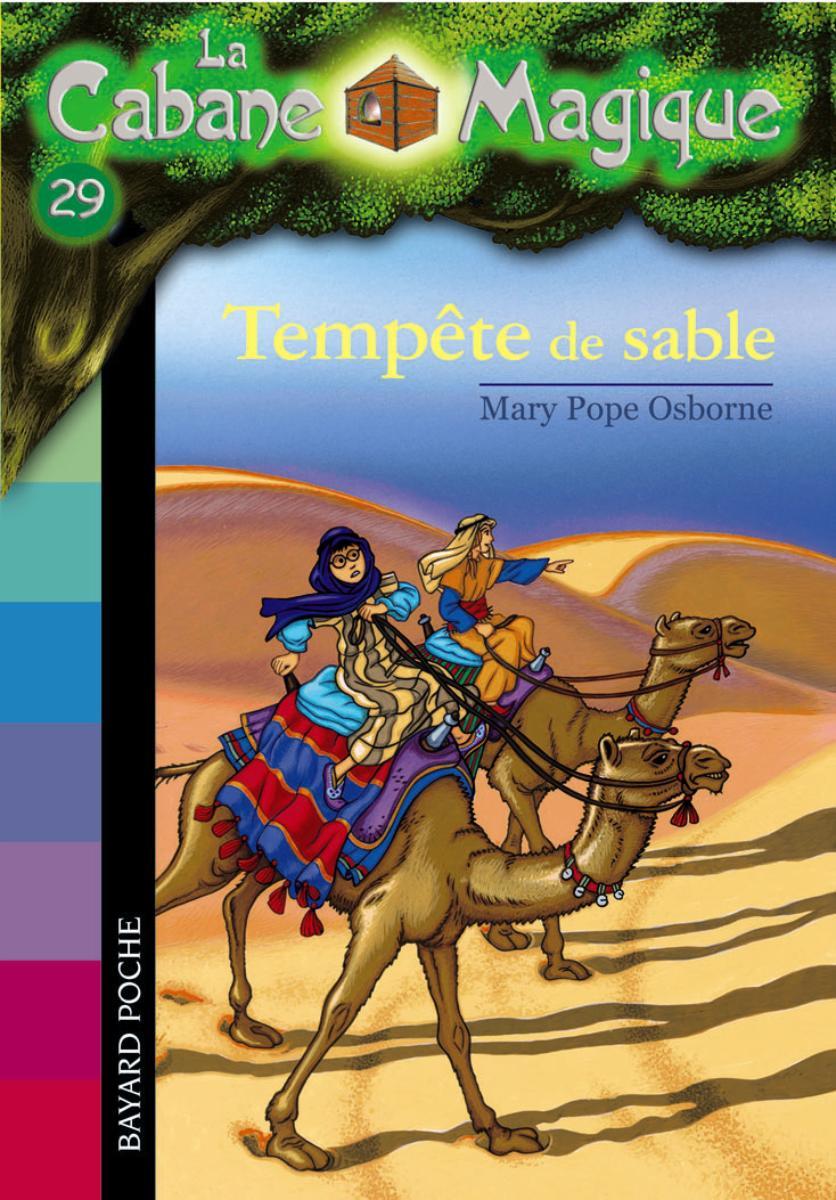 Couverture de «TEMPÊTE DE SABLE»