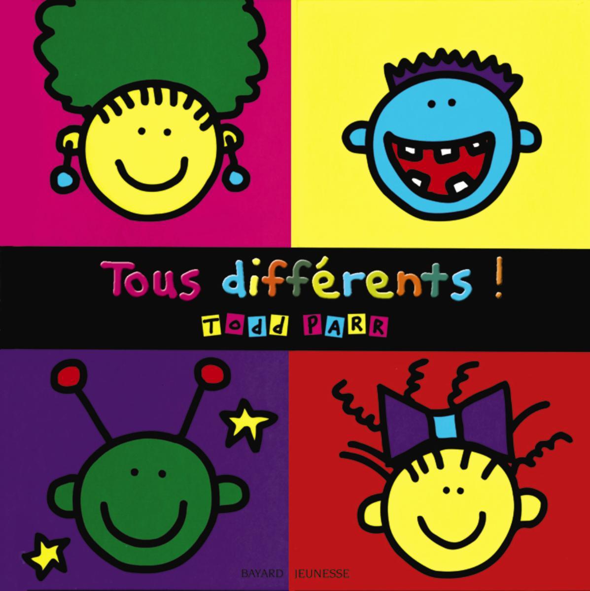 Couverture de «Tous différents !»