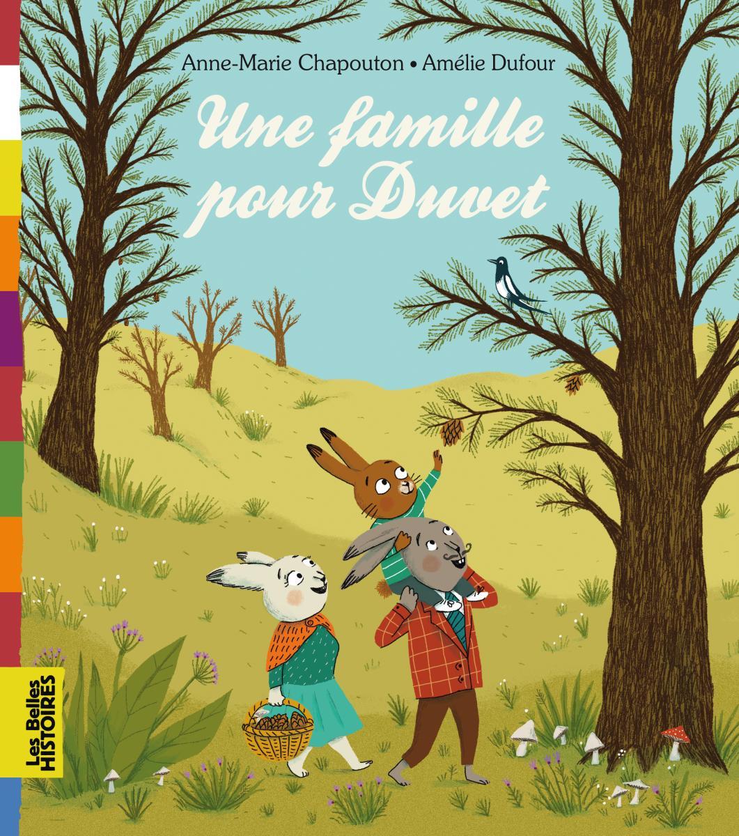 Couverture de «UNE FAMILLE POUR DUVET»