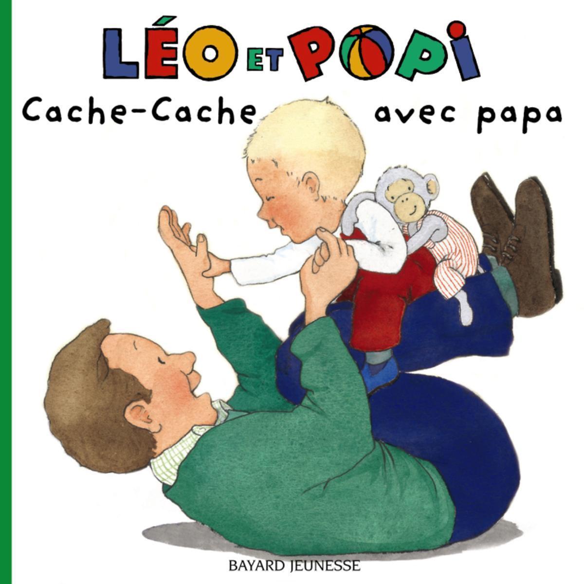 Couverture de «CACHE-CACHE AVEC PAPA – N9»