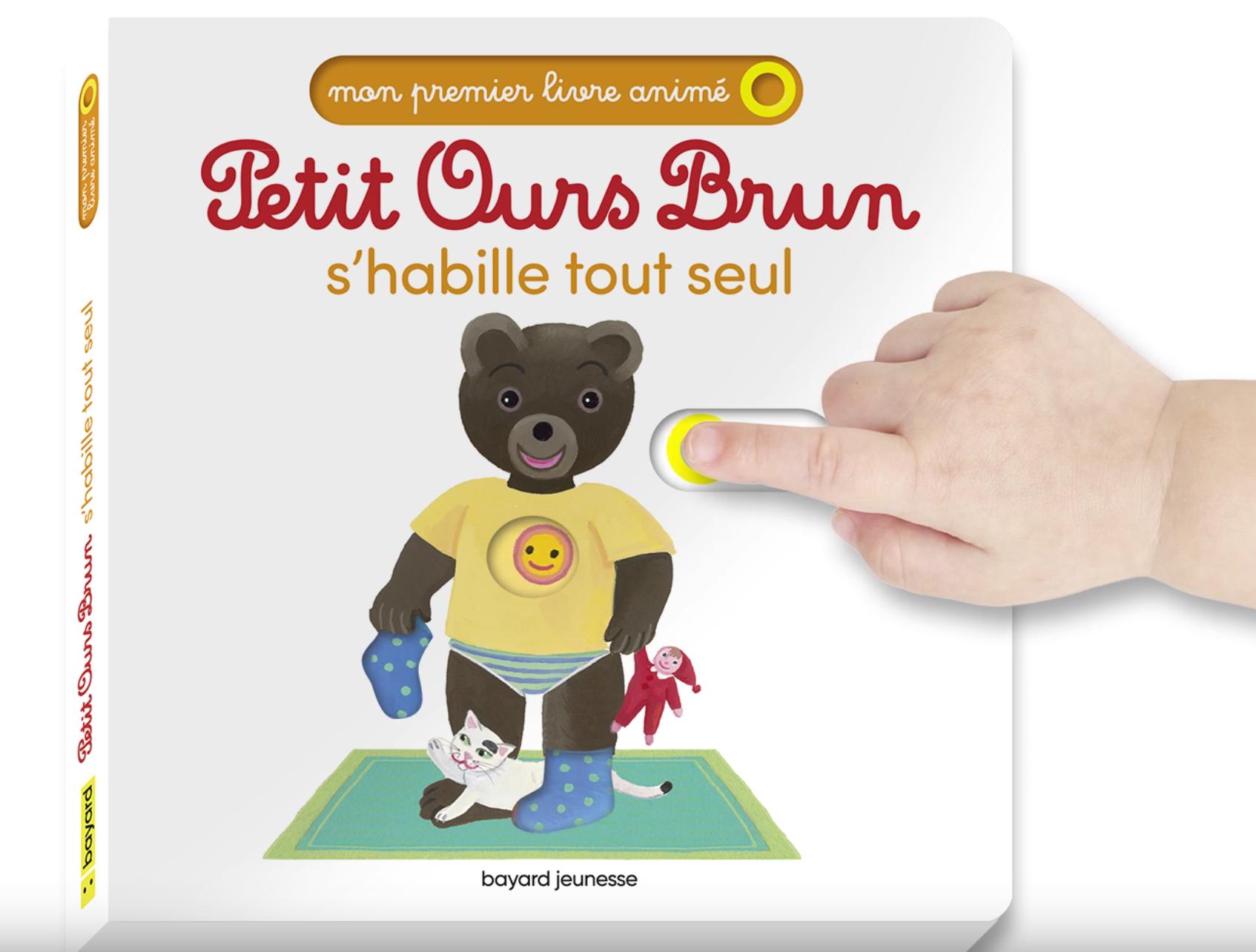 Mon premier livre animé Petit Ours Brun